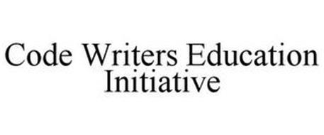 CODE WRITERS EDUCATION INITIATIVE