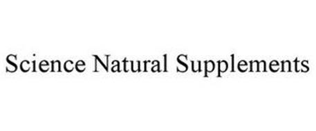 SCIENCE NATURAL SUPPLEMENTS