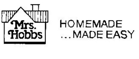 MRS. HOBBS HOMEMADE...MADE EASY