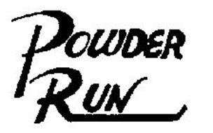 POWDER RUN