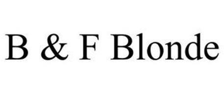 B & F BLONDE