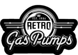 EST. 1986 RETRO GAS PUMPS