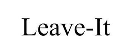 LEAVE-IT