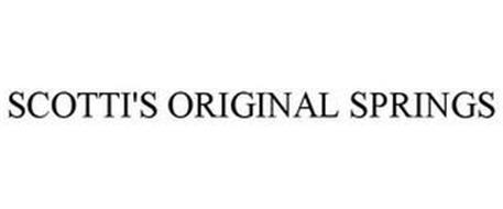 SCOTTI'S ORIGINAL SPRINGS