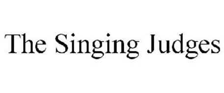 THE SINGING JUDGES