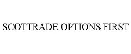 Scottrade options first address