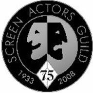 SCREEN ACTORS GUILD 1933 2008 75