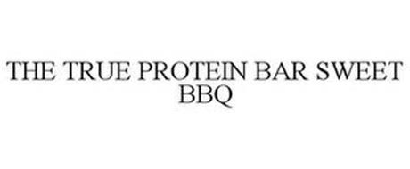 THE TRUE PROTEIN BAR SWEET BBQ