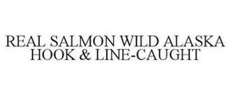 REAL SALMON WILD ALASKA HOOK & LINE-CAUGHT