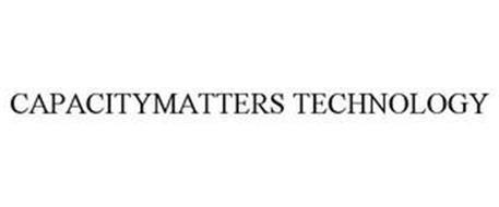 CAPACITYMATTERS TECHNOLOGY