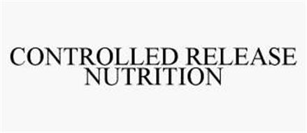 CONTROLLED RELEASE NUTRITION