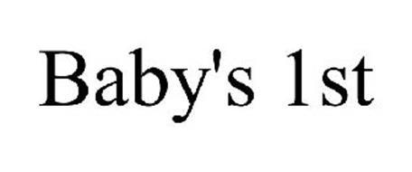 BABY'S 1ST