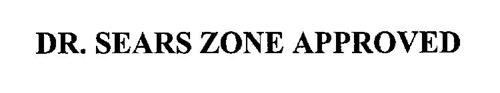 DR. SEARS ZONE APPROVED
