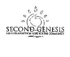 SECOND GENESIS HELP FOR ADDICTION. HOPE FOR THE COMMUNITY.