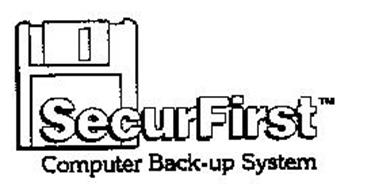 SECURFIRST COMPUTER BACK-UP SYSTEM