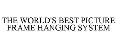 THE WORLD'S BEST PICTURE FRAME HANGING SYSTEM