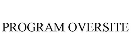 PROGRAM OVERSITE