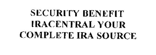 SECURITY BENEFIT IRACENTRAL YOUR COMPLETE IRA SOURCE