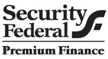 SECURITY FEDERAL PREMIUM FINANCE SF