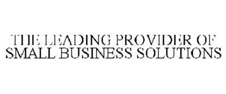 THE LEADING PROVIDER OF SMALL BUSINESS SOLUTIONS