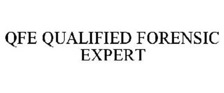 QFE QUALIFIED FORENSIC EXPERT