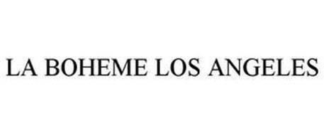 LA BOHEME LOS ANGELES