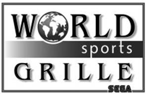 WORLD SPORTS GRILLE SEGA