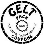 """GELT PACK """"THE JEWISH COUPON FAVORITE"""" COUPONS"""