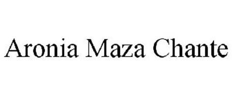 ARONIA MAZA CHANTE