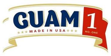 GUAM 1 NO. ONE MADE IN USA