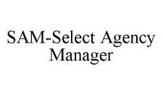 SAM-SELECT AGENCY MANAGER