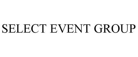 SELECT EVENT GROUP