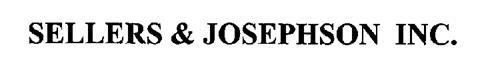 SELLERS & JOSEPHSON INC.