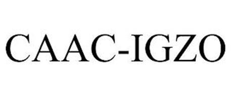 CAAC-IGZO