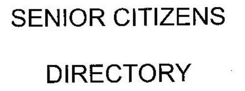 SENIOR CITIZENS DIRECTORY