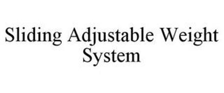 SLIDING ADJUSTABLE WEIGHT SYSTEM