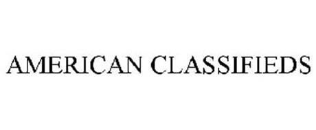 AMERICAN CLASSIFIEDS