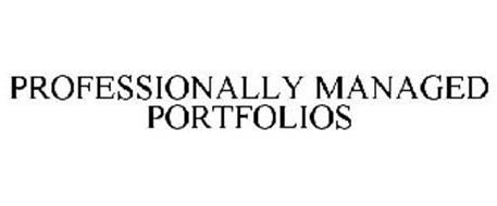 PROFESSIONALLY MANAGED PORTFOLIOS