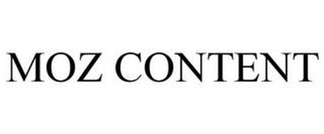 MOZ CONTENT