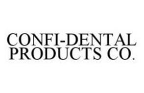 CONFI-DENTAL PRODUCTS CO.