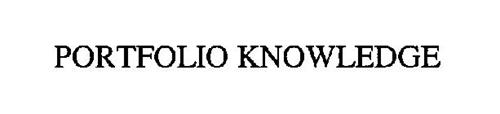PORTFOLIO KNOWLEDGE