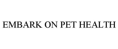 EMBARK ON PET HEALTH