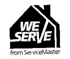 WE SERVE FROM SERVICEMASTER
