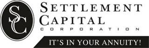 SC SETTLEMENT CAPITAL CORPORATION IT'S IN YOUR ANNUITY!