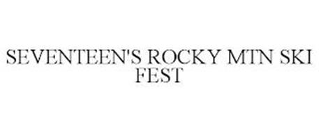 SEVENTEEN'S ROCKY MTN SKI FEST