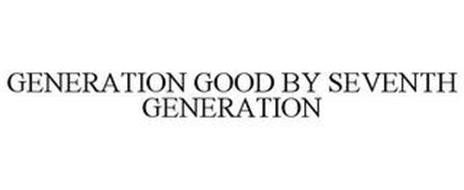 GENERATION GOOD BY SEVENTH GENERATION