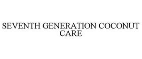 SEVENTH GENERATION COCONUT CARE