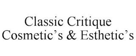 CLASSIC CRITIQUE COSMETIC'S & ESTHETIC'S