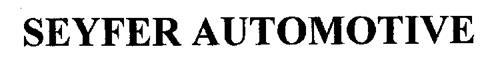 SEYFER AUTOMOTIVE