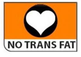 NO TRANS FAT